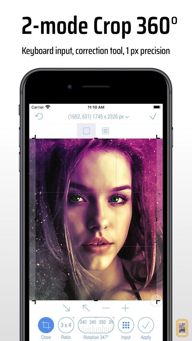 Screenshot - CropSize: Photo Resizer Editor