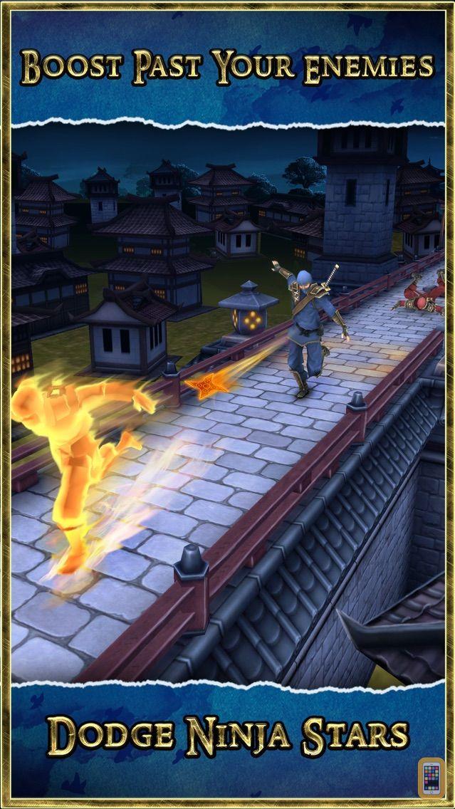 Screenshot - Ninja Run 3D Multiplayer Game - Mega Fun Kids Jump Race  (Battle 2 the Dojo Temple)