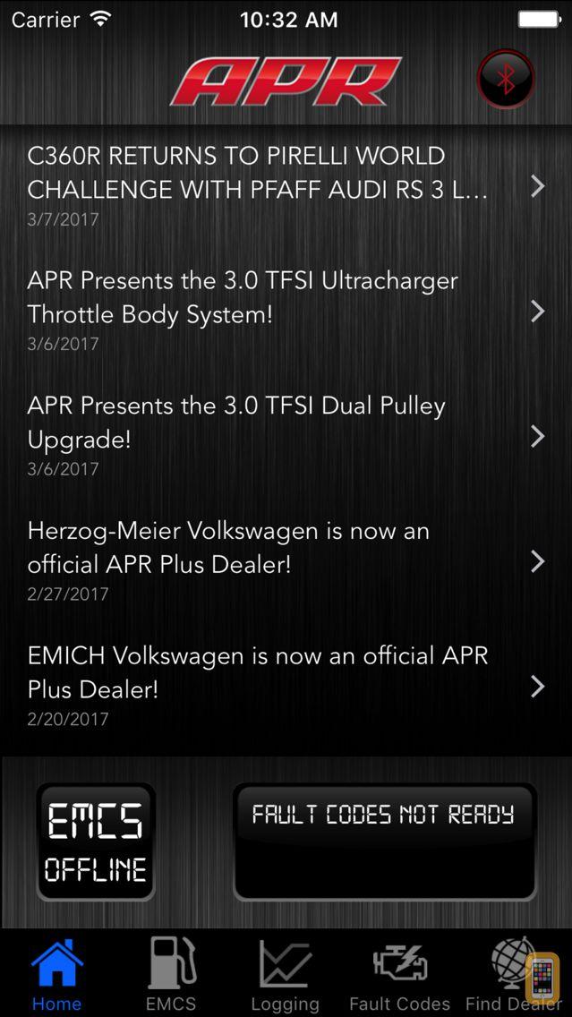 Screenshot - APR Mobile