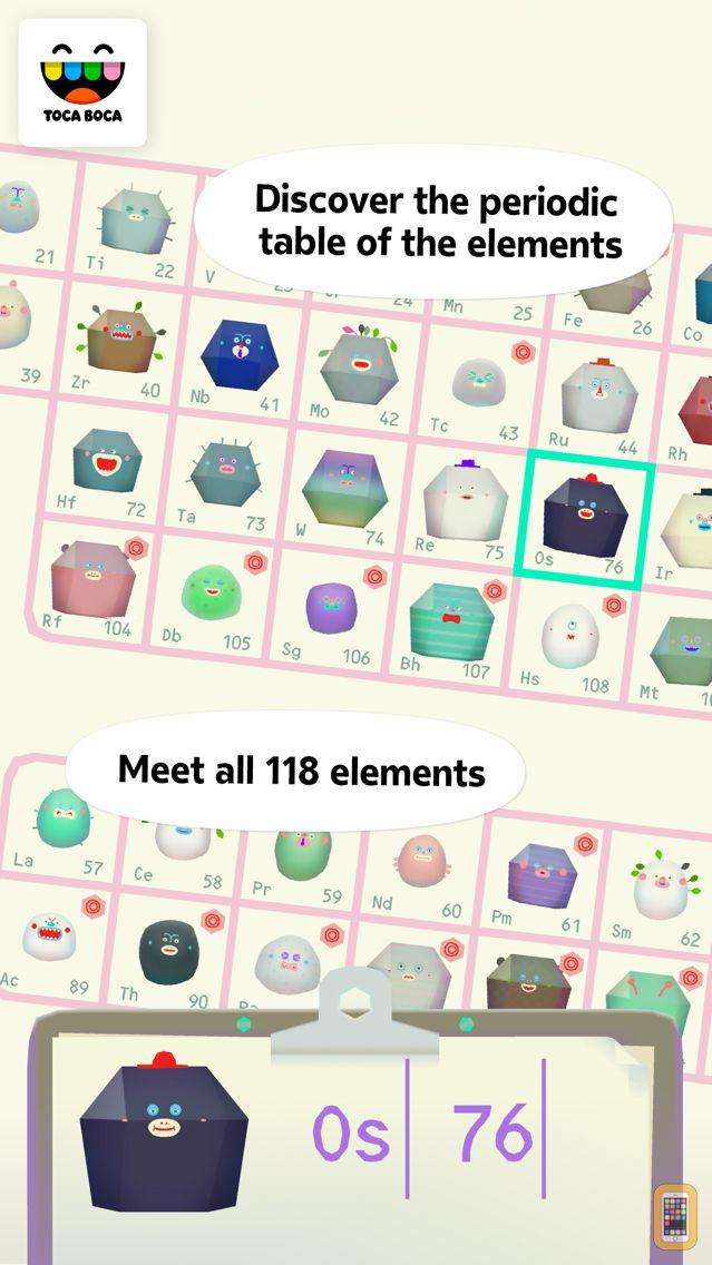 Screenshot - Toca Lab: Elements