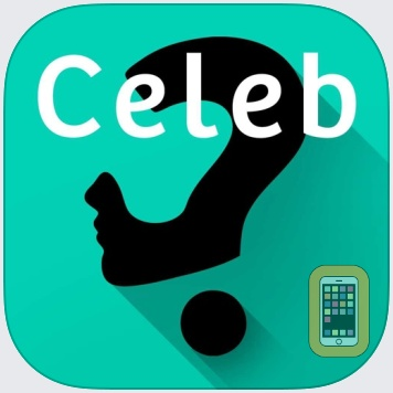 Celebrity Guess (guessing the celebrities quiz games). Cool new puzzle trivia word game with awesome images of the most popular TV icons and movie stars. Have fun predicting the famous celeb, talented by Applewood Apps LLC (Universal)