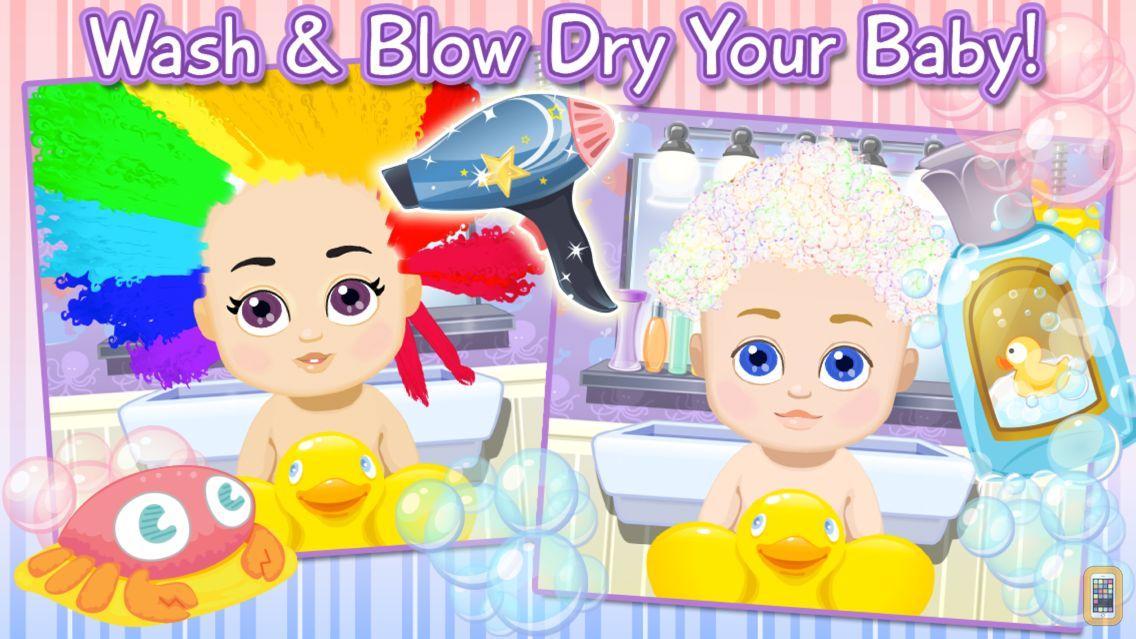 Screenshot - Sunnyville Baby Salon Kids Game - Play Free Fun Cut & Style Babies Hair Games For Girls