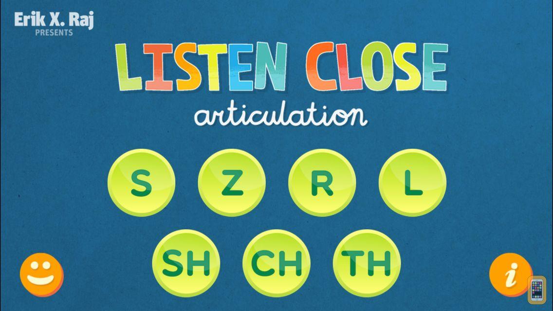 Screenshot - Listen Close Articulation