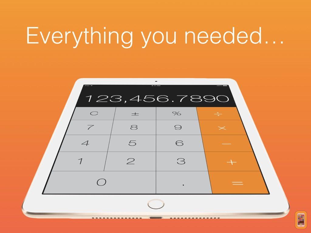 Screenshot - Calculator HD (for iPad)