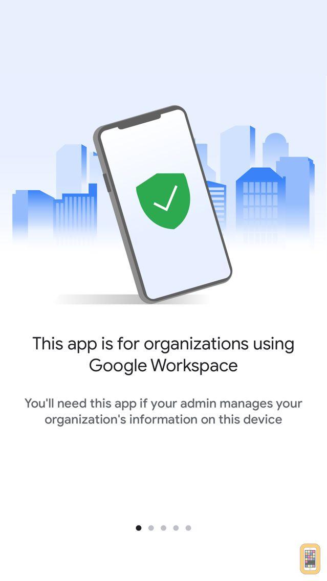 Screenshot - Google Device Policy