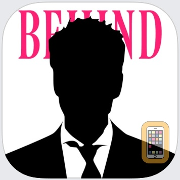 Write Behind Text On Photo.s by Tap Flat Apps, LLC (Universal)