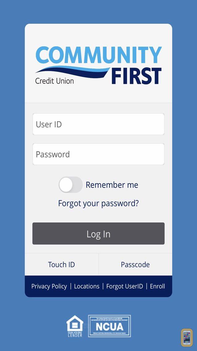 Screenshot - Community First CU of Florida