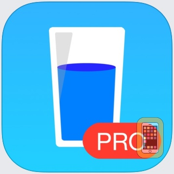 Drink Water PRO Daily Reminder by App Rover (Universal)