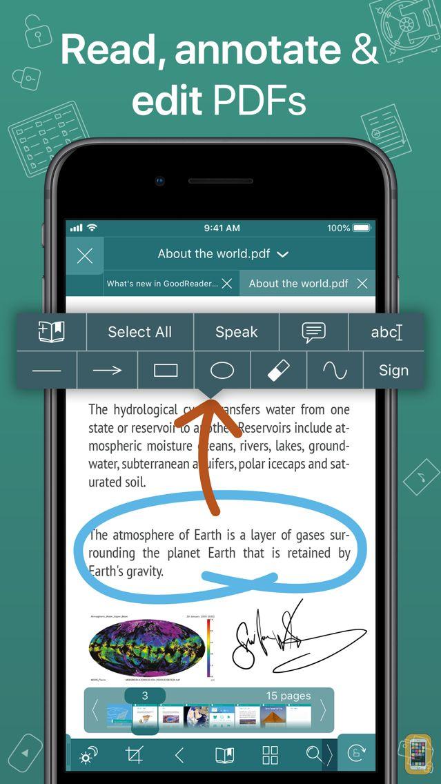 Screenshot - GoodReader PDF Editor & Viewer