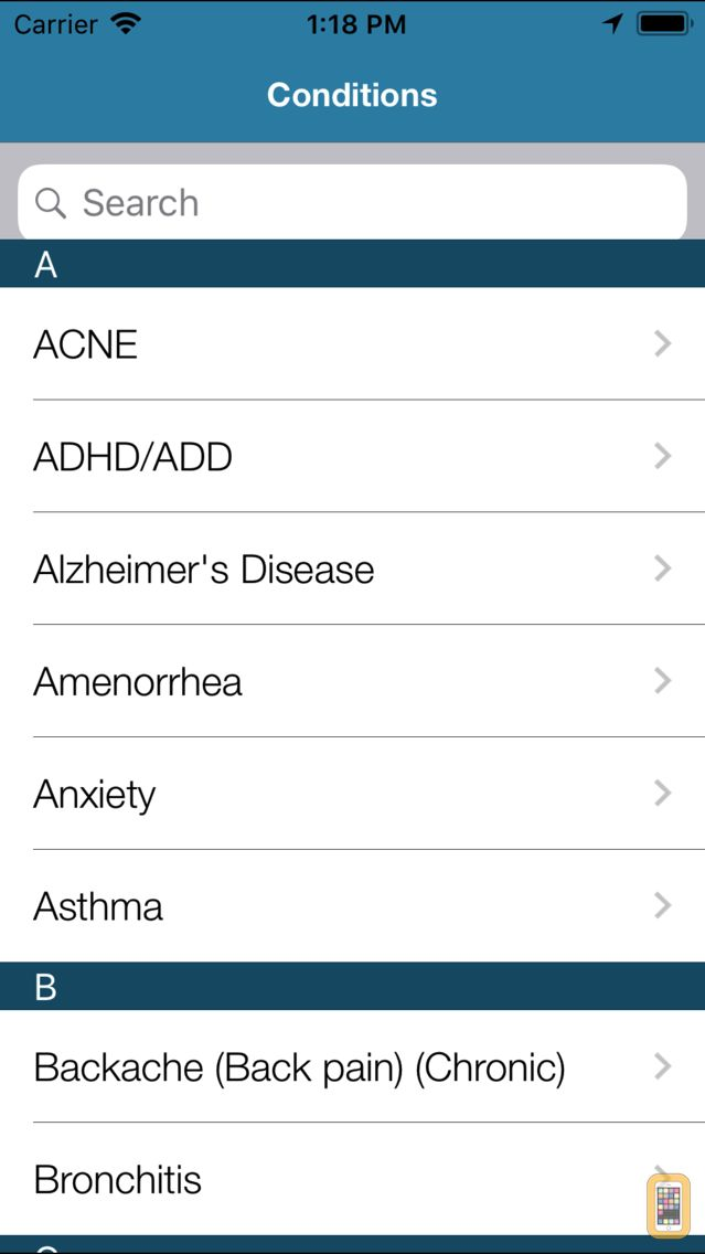Screenshot - Apple A Day RX – Medical Tool