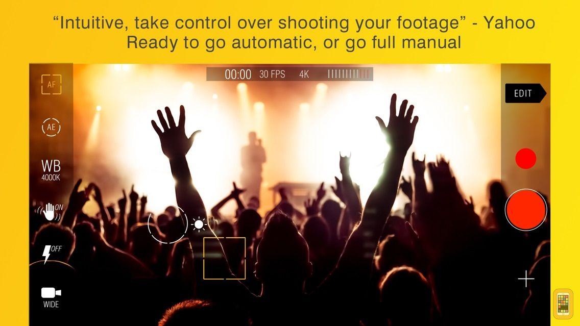 Screenshot - Kinomatic - Pro Video Camera