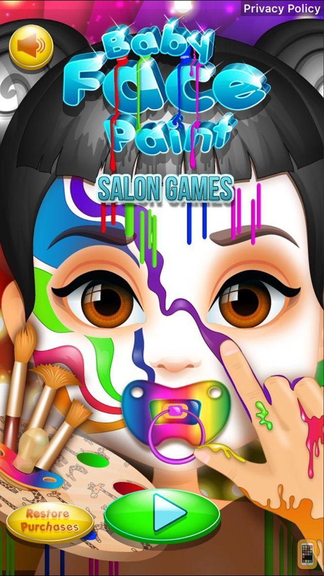 Screenshot - Baby Face Paint