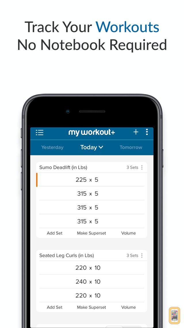 Screenshot - My Workout+
