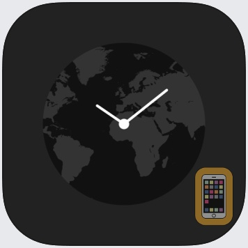 Globe Clock by y-design (iPad)