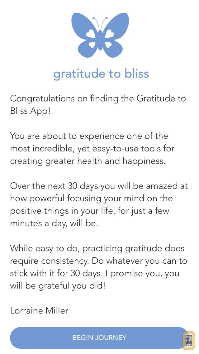 Screenshot - Gratitude Journal by Lorraine Miller