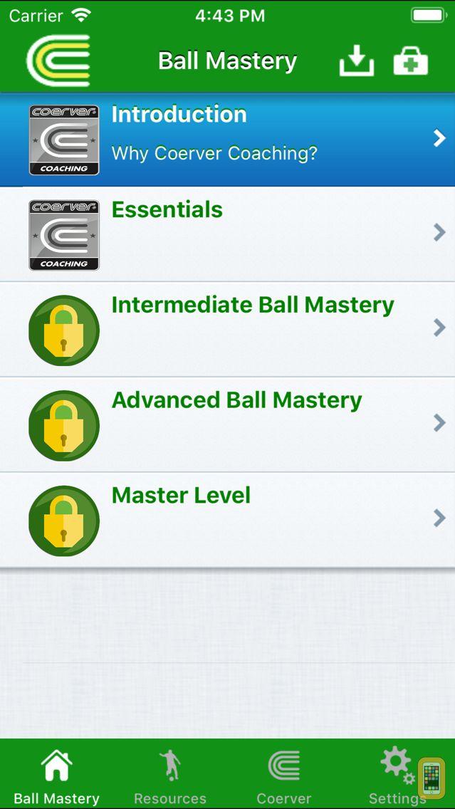 Screenshot - Coerver Soccer Skills