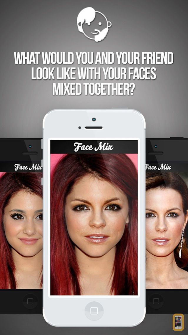 Screenshot - Combine Two Faces With FaceMix