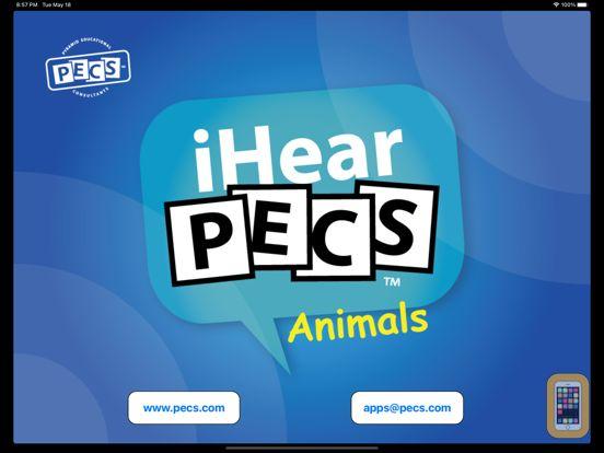 Screenshot - iHear PECS: Animals