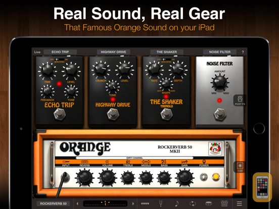 Screenshot - AmpliTube Orange for iPad