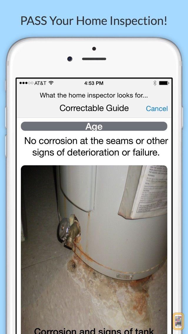 Screenshot - Home Inspection Ready - House Inspector Checklist