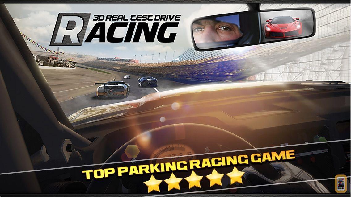 Screenshot - 3D Real Test Drive Racing Parking Game - Free Sports Cars Simulator Driving Sim Games