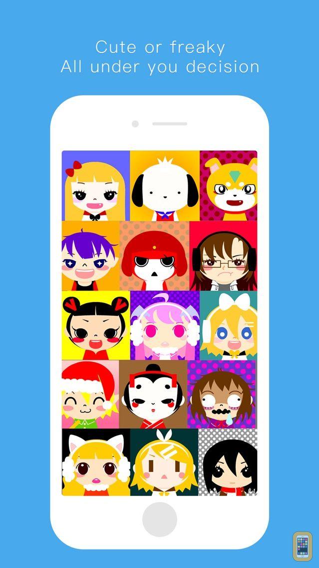 Screenshot - Avatar Crear - Emoji