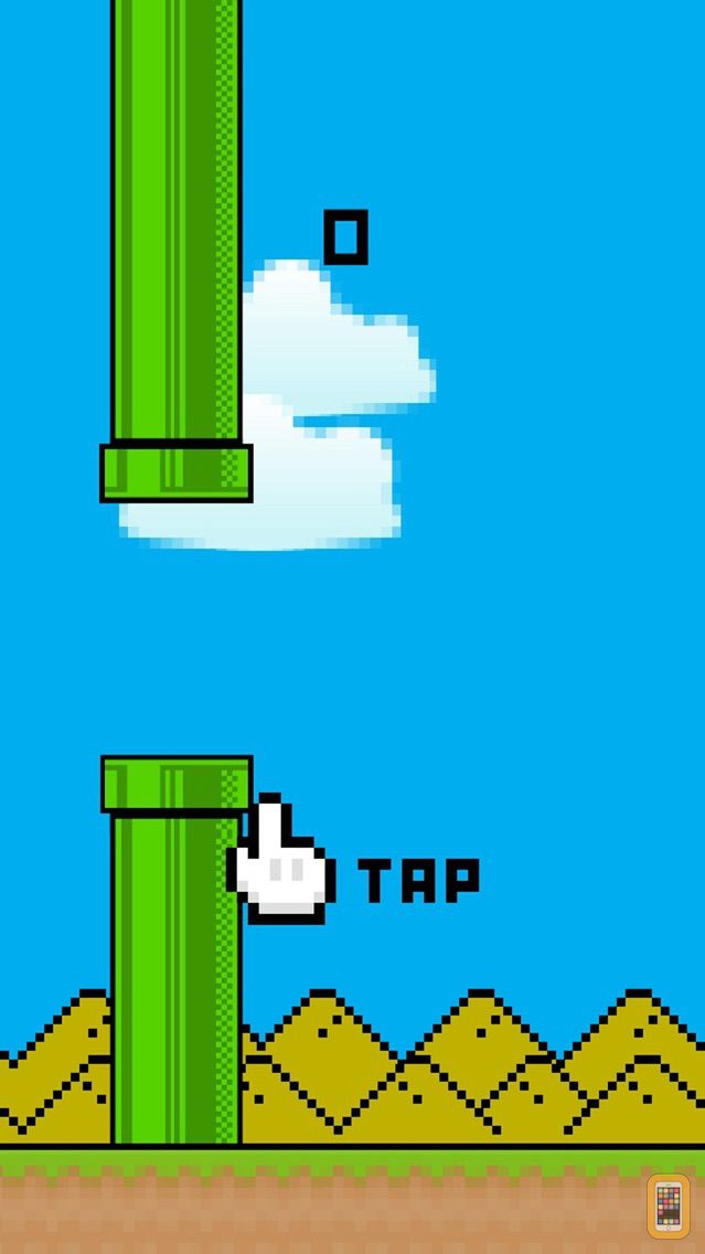 Screenshot - Pippy Bird - The Adventure of a Flying Pipe a Tiny Flappy Game