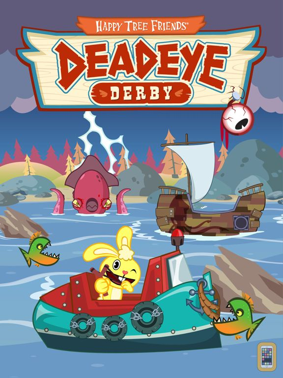 Screenshot - Happy Tree Friends: Deadeye Derby HD