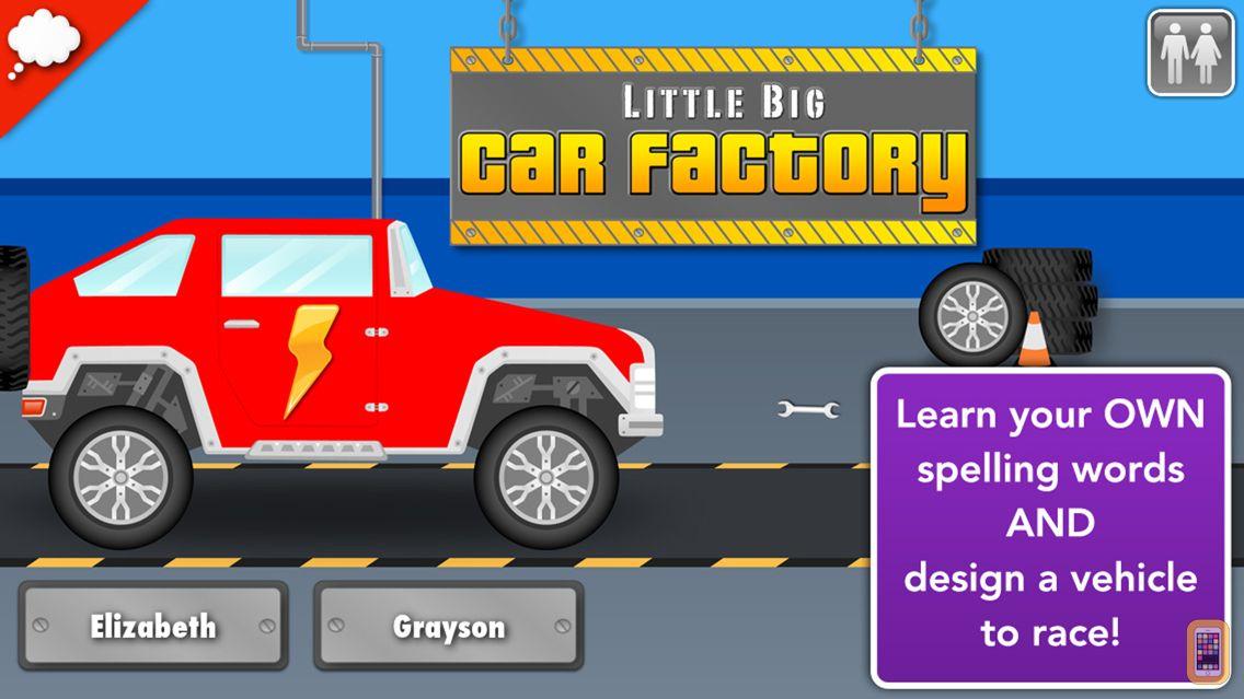 Screenshot - Car Factory: Spelling Game