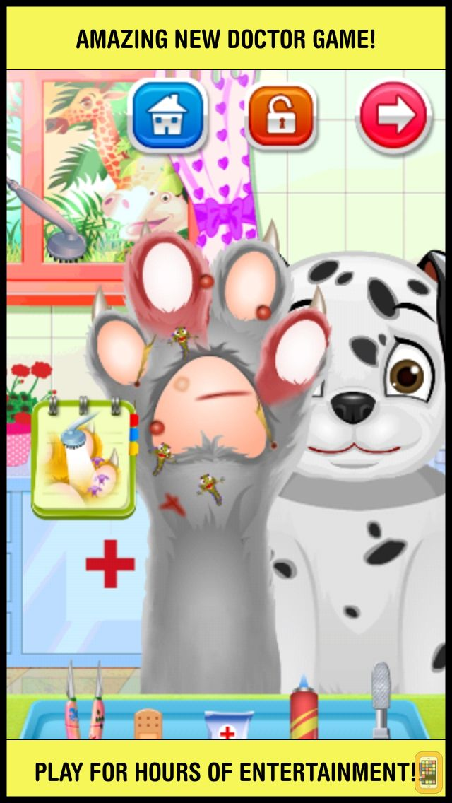 Screenshot - A Little Pet Foot Doctor & Nail Spa - crazy toe salon and leg makeover games for kids