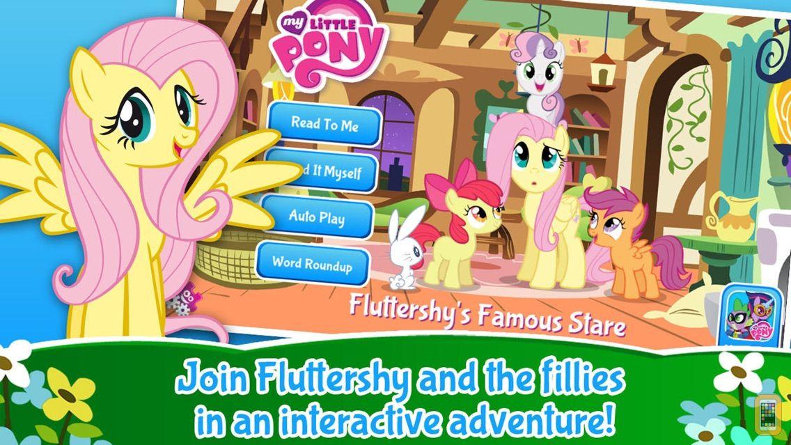 Screenshot - My Little Pony: Fluttershy's Famous Stare
