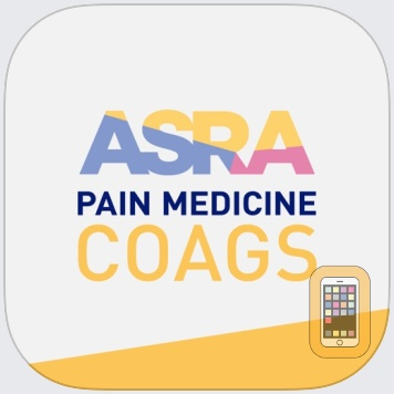 ASRA Coags by American Society of Regional Anesthesia and Pain Medicine (iPhone)