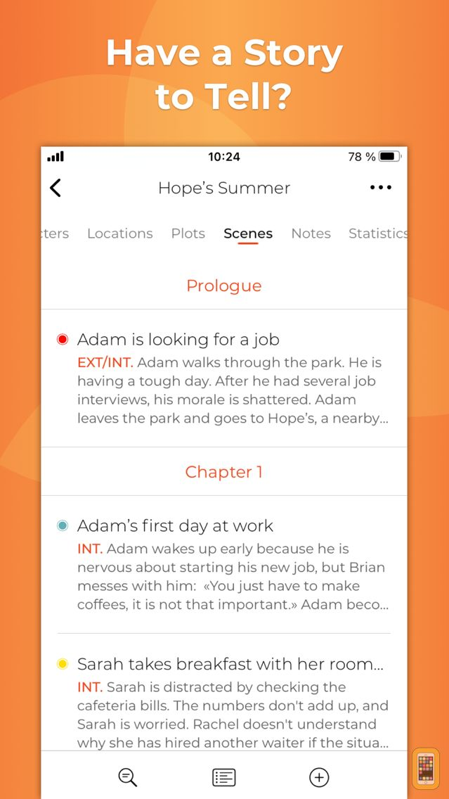 Screenshot - Story Planner for Writers