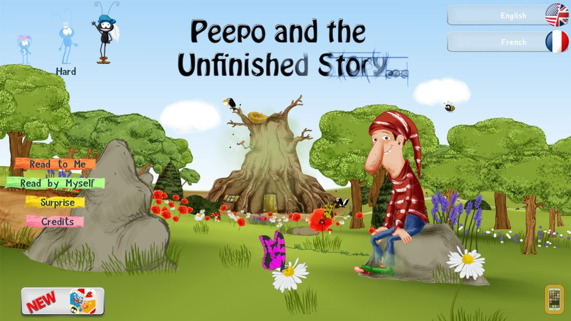 Screenshot - Peepo and the Unfinished Story