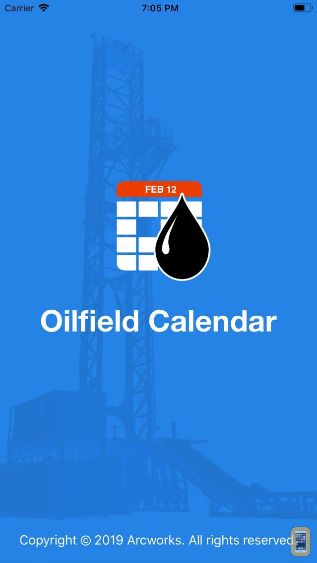 Screenshot - Oilfield Calendar