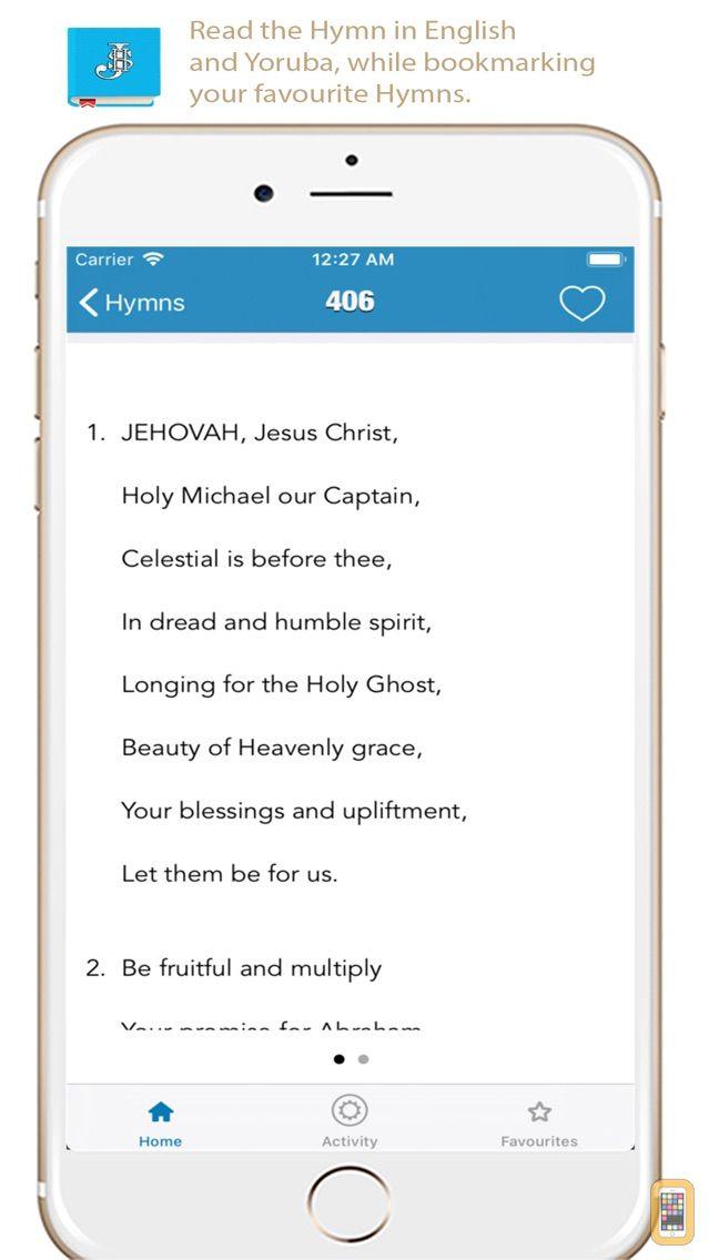 Screenshot - CCCHymns