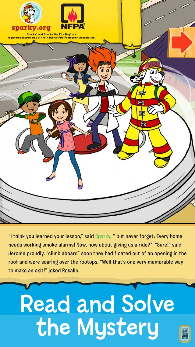 Screenshot - Sparky & The Case of the Missing Smoke Alarms