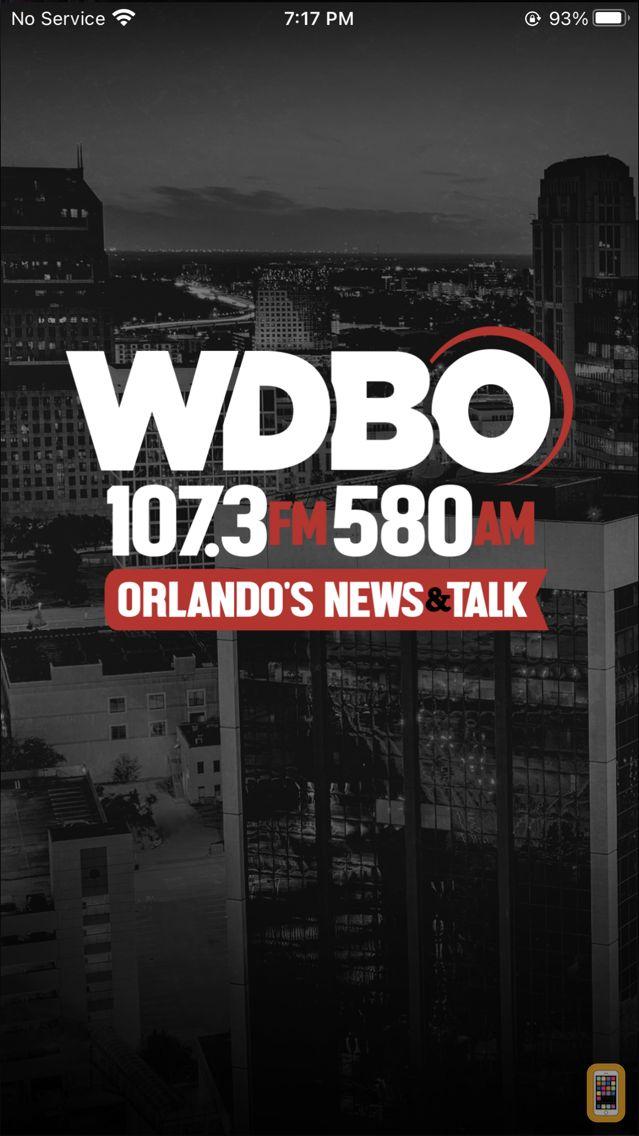 Screenshot - WDBO, Orlando's News & Talk