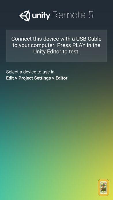 Screenshot - Unity Remote 5