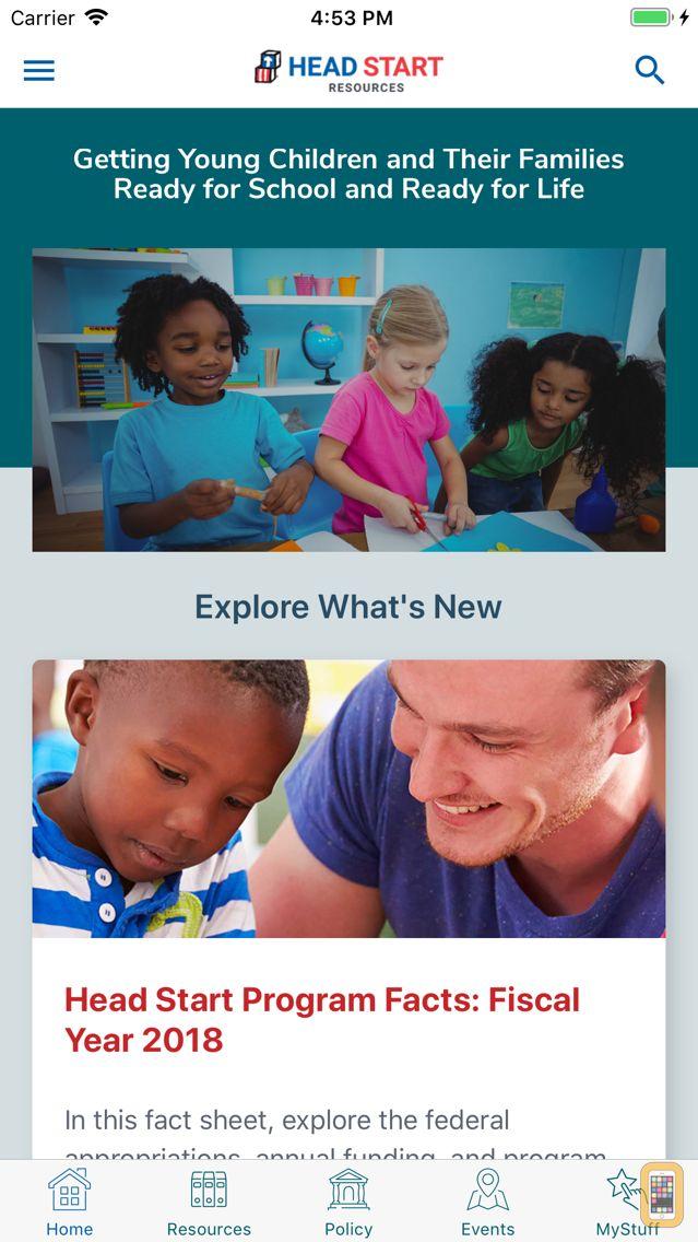 Screenshot - Head Start Resources