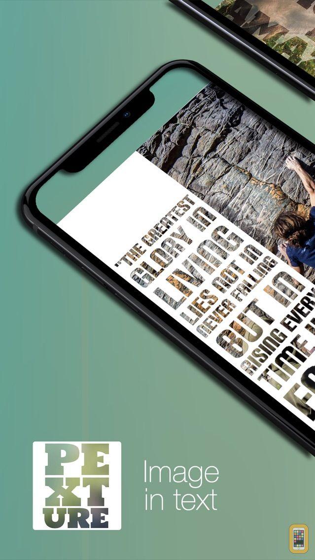 Screenshot - Pexture - Text in photo