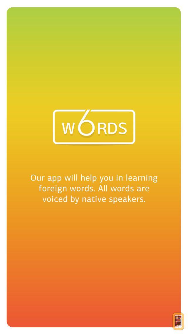 Screenshot - 6 Words
