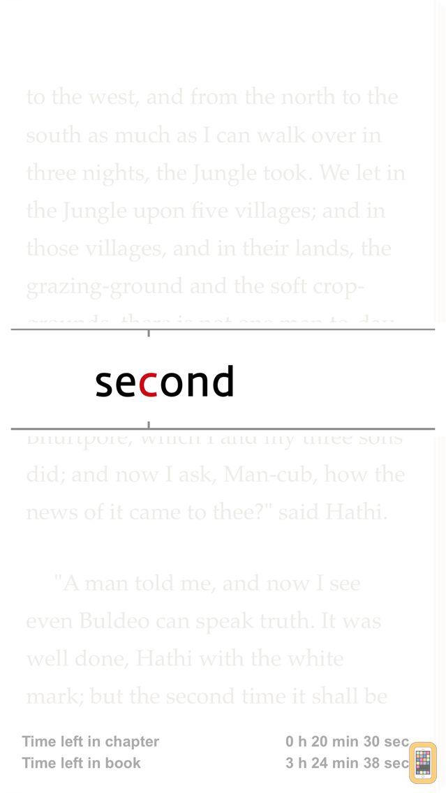 Screenshot - ReadMe! (Spritz & BeeLine)