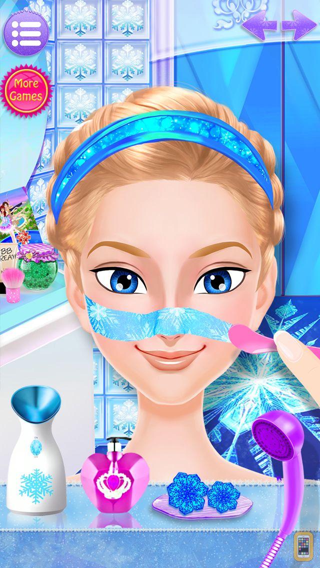 Screenshot - Frozen Ice Queen - Beauty SPA