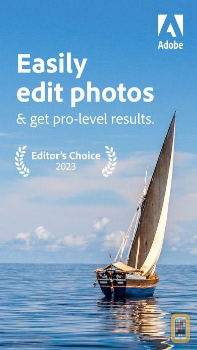 Screenshot - Adobe Lightroom Photo Editor