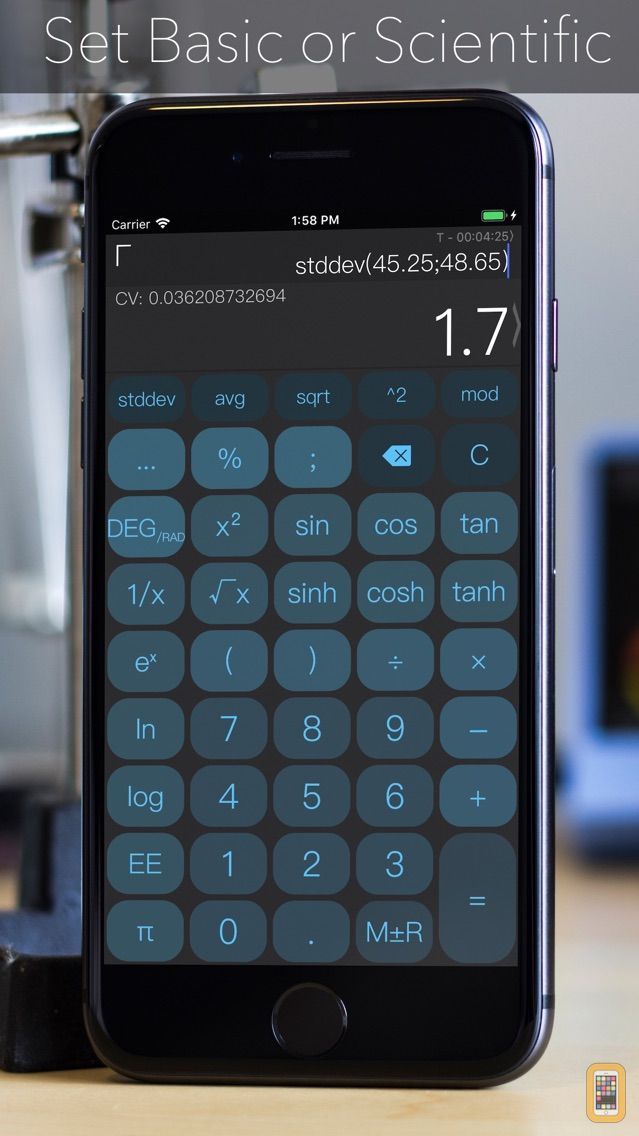 Screenshot - CALC Swift