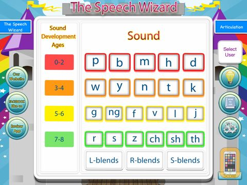 Screenshot - Articulation with The Speech Wizard