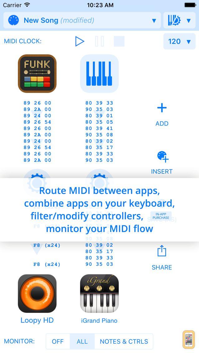 Screenshot - Midiflow