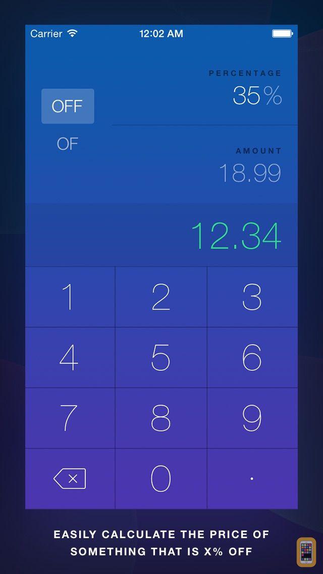 Screenshot - OffOf - Percentage Calculator