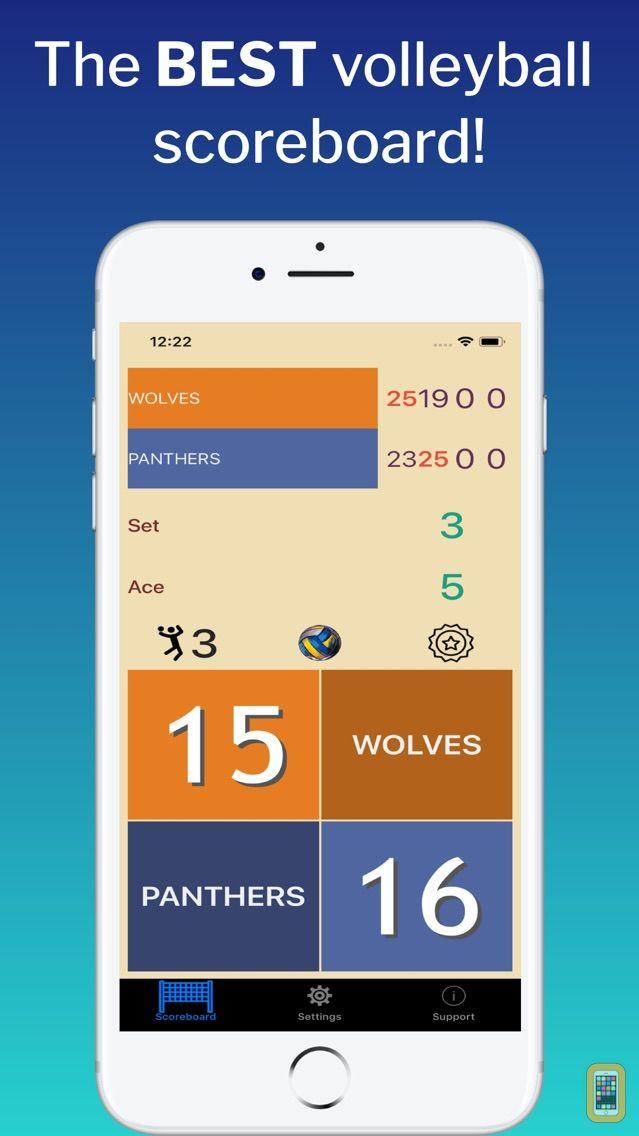Screenshot - VBall ScoreMaster